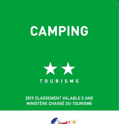 logo camping 2 étoiles
